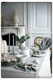 Broste Copenhagen - Dinner plate 'Nordic Sand' Stoneware sand_13