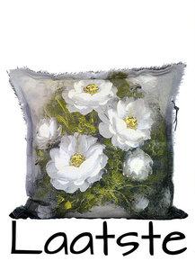 Stapelgoed - Kussen Pallet / Grijze bloem