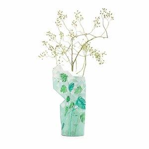 distelroos-Pepe-Heykoop-Paper-Vase-Cover-large-Jungle-Leaves