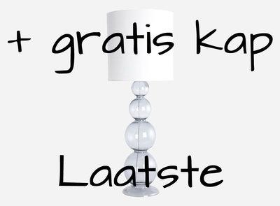 distelroos-House-Doctor-Lamp-base-Bubble-grijs