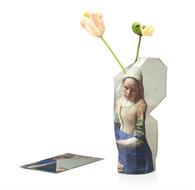 distelroos-Pepe-Heykoop-Paper-Vase-Cover-Het-Melkmeisje-van-Vermeer