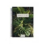 Mijn Stijl - Boekje Things to do donker botanical