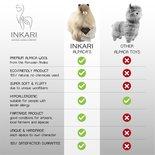 Inkari - Alpaca knuffel Hazelnoot M