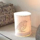 AfroDutchPaperStone - Tealight holder bird