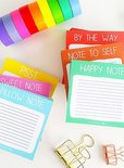 Studio Stationery - Mini note: note to self
