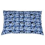 Broste Copenhagen - Cushion cover Tie Dye Indigo blue