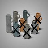 BRYNXZ - Kandelaar cylinder grijs