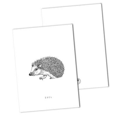 BDdesigns - Kaart Egel