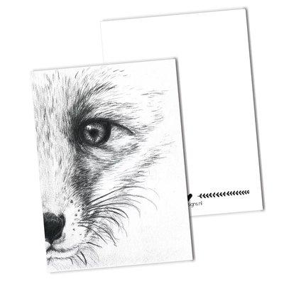 BDdesigns - Kaart De vos