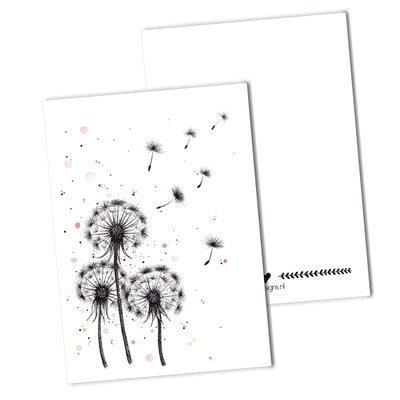 BDdesigns - Kaart Paardenbloem pluis