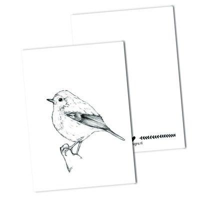 BDdesigns - Kaart Roodborstje