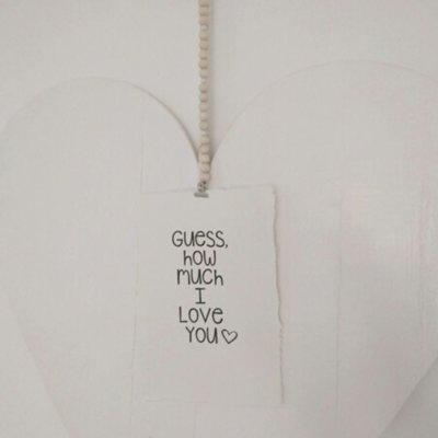 (Op) de Maalzolder - Poster Guess how much I love you