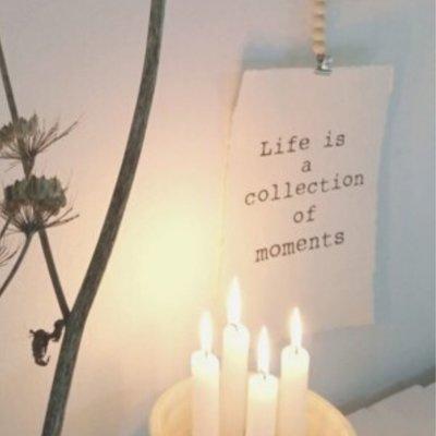 (Op) de Maalzolder - Poster Life is a collection
