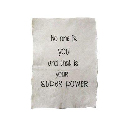 (Op) de Maalzolder - Poster No one is you