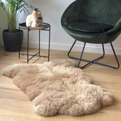 Inkari - Handgemaakte Alpaca kleed Reina Sandstone