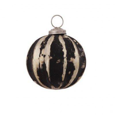 PTMD - Kerstbal zwart/goud