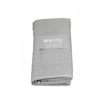 Mijn Stijl - Handdoek XL Licht grijs