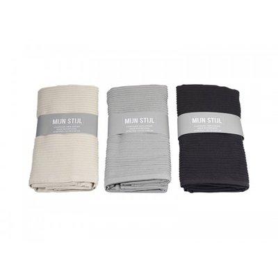 Mijn Stijl - Handdoek XL Donker grijs