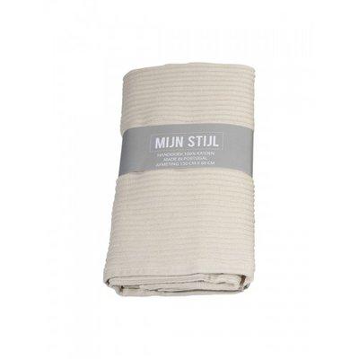 Mijn Stijl - Handdoek XL Ecru