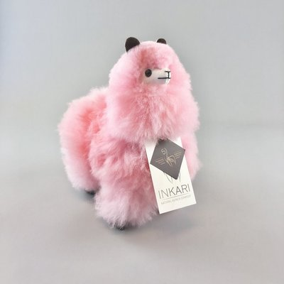 Inkari - Alpaca knuffel Cotton candy S Limited edition