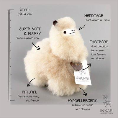 Inkari - Alpaca knuffel Blond S