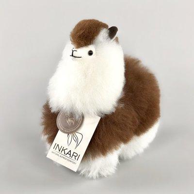 Inkari - Alpaca knuffel Macchiato S