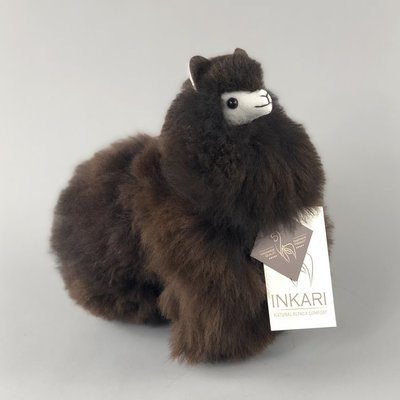 Inkari - Alpaca knuffel Cacao S