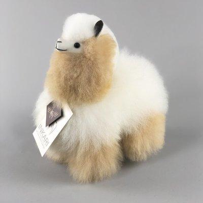 Inkari - Alpaca knuffel Ivory blond S