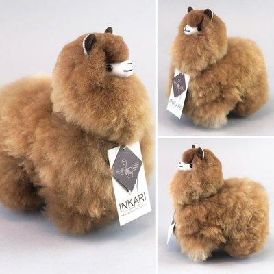 Inkari - Alpaca knuffel Caramel S