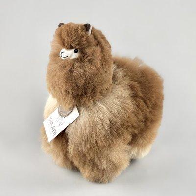 Inkari - Alpaca knuffel Caramel M
