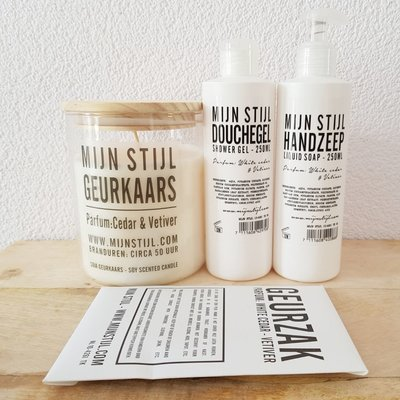 Verwenpakket White cedar & vetiver