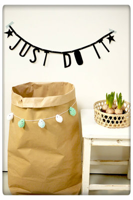 A Little Lovely Company - DIY XL paper bag kraft