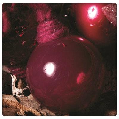 PTMD - Christmas pink fuchsia Glass ball smooth