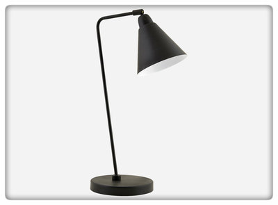 House Doctor - Table Lamp Game black