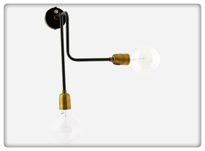 House Doctor - Wall lamp Molecular A