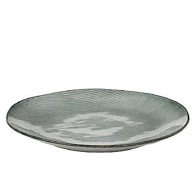 Broste Copenhagen - Big plate 'Nordic Sea' Stoneware