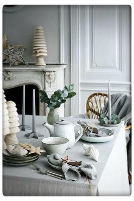 Broste Copenhagen - Plate oval 'Nordic Sand' Stoneware