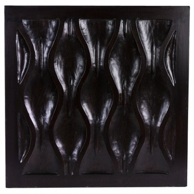 PTMD - Wavedesign wood panel Walnut square s