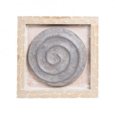 PTMD - Jewel panel wood circle cream square