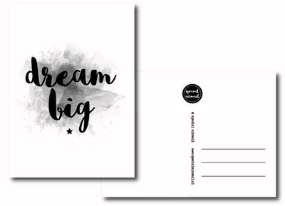 Special Airmail - Kaart Dream Big