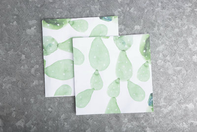Urban Nature Culture - Cactus allover Napkin