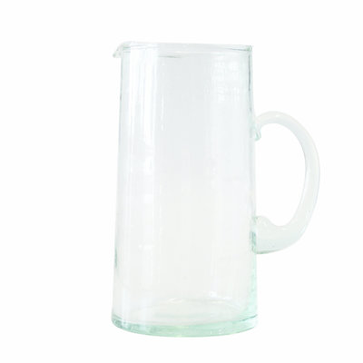 Urban Nature Culture - Recycled glass carafe transparant