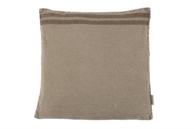 MrsBloom - Linen cushion Jenny dark natural