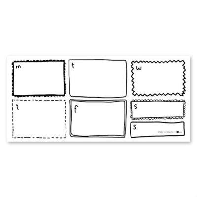 Studio Stationery - Weekly planner