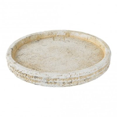 PTMD - Harlow Cement candle plate round m