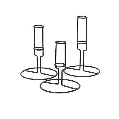 Broste Copenhagen - Candle stick Filou smoked pearl