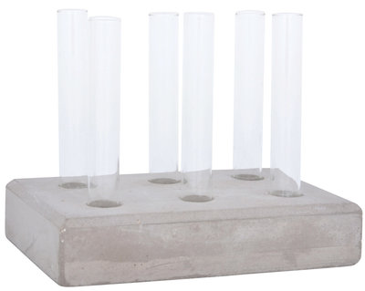 Esschert Design - Cuttings tubes set concrete base L