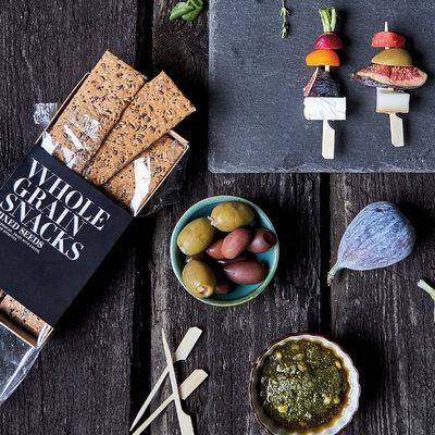 Nicolas Vahé - Volkoren crackers Gemengde zaden