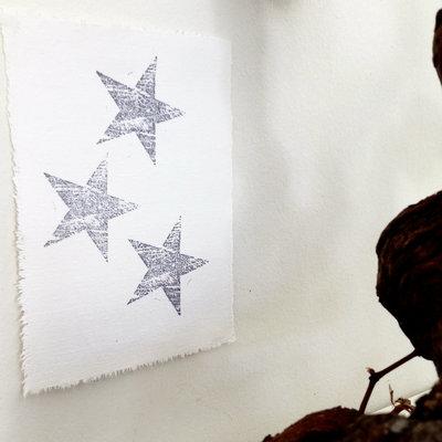 AfroDutchPaperStone - Kaart Stars