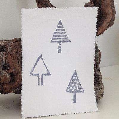 AfroDutchPaperStone - Kaart Trees